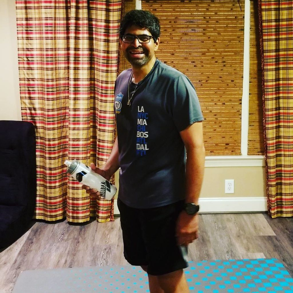 Dr Shroff just finished 100 Lunge Jumps! ridiculousness healthgoals accomplished