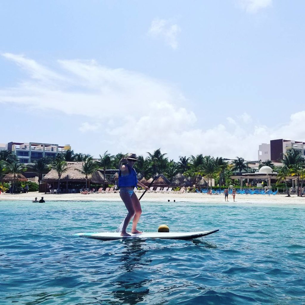 Our client Elizabeth getting down on that paddle boardmust behellip